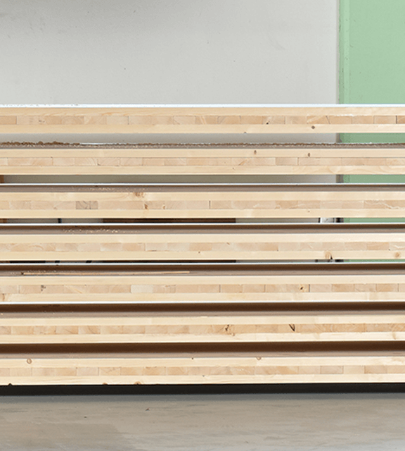 CLT - cross-laminated timber